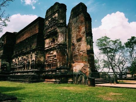 Stunning ruins in Polonnaruwa