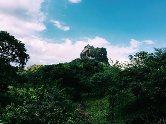 Sigirya from afar