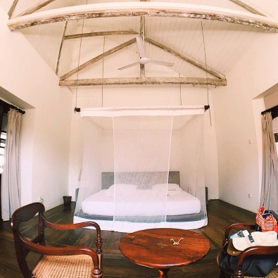 Our lovely Airbnb in Galle