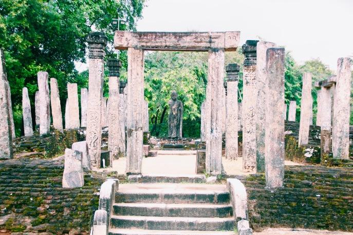 Tempelanlage in Polonnaruwa