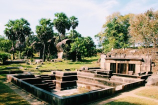 Ancient baths in Anuradhapura