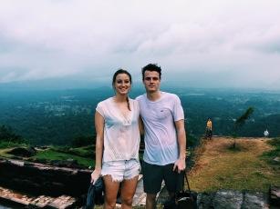 On top of Sigirya rock