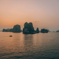 Sailing in Ha Long Bay